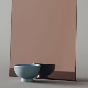 Зеркало цветное (бронза)