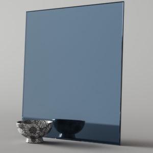 Цветное зеркало (графит)